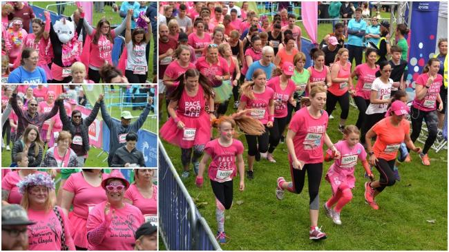 Start of the 5k Race for Life in Cwmbran. Picture: christinsleyphotography.co.uk